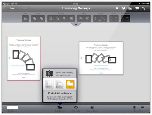 App Cooker - Mockup tool