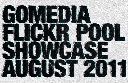 Go Media Flickr pool showcase - August 2011 - Header