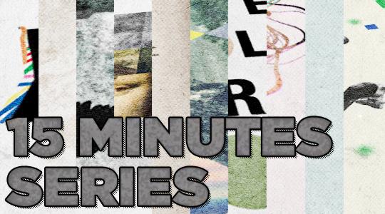 """Tobias Bergdahl - """"15 Minutes"""" series - header by SAoS"""