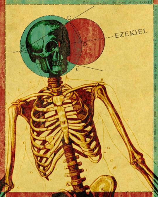 "The ""Words"" series by Jim LePage - Ezekiel"