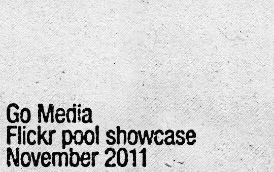 Go Media Flickr pool showcase - November 2011 - Header