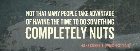 Alex Cornell Quote