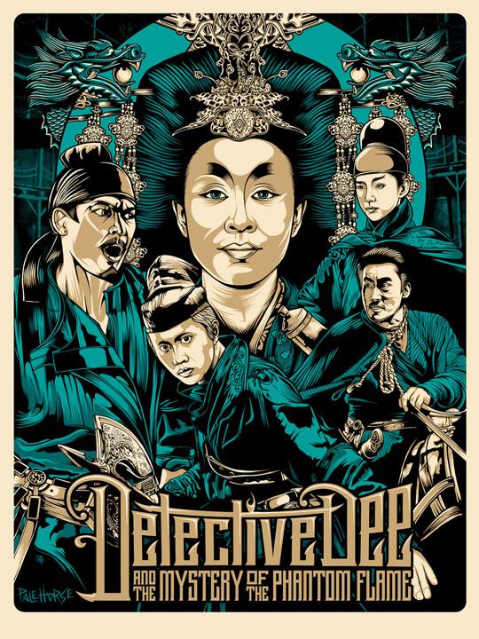 Detective Dee Poster Art