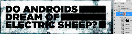 SAoS - Do androids dream of electric sheep - Type elements details 06