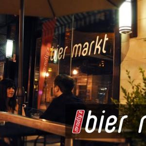 Bier Markt Logo Design - Signage