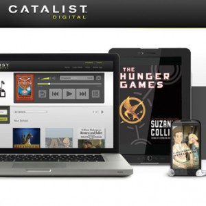 Findaway Catalist Digital Website Design - Homepage Mockup