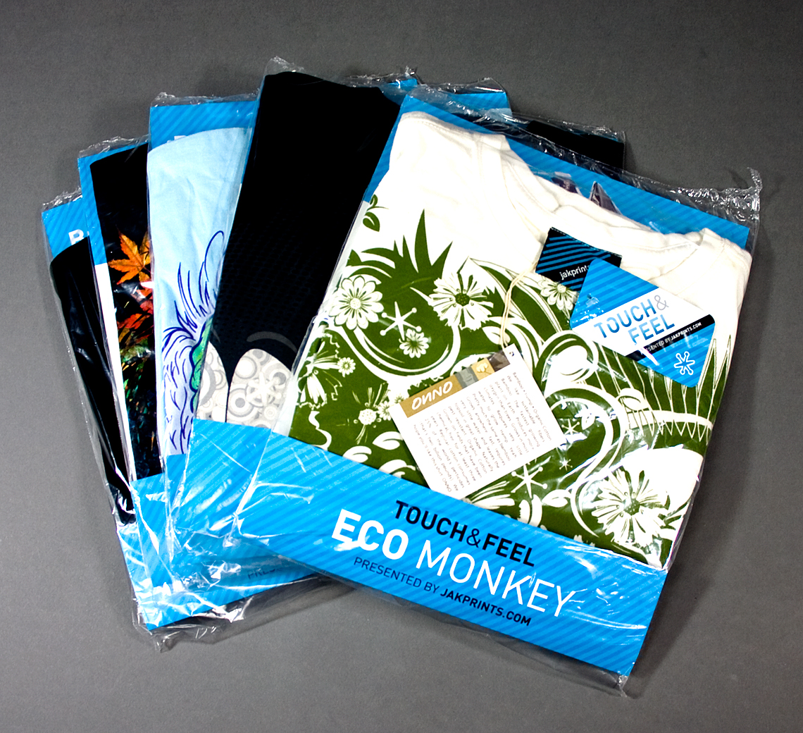 Jakprints Touch and Feel T-Shirt Designs