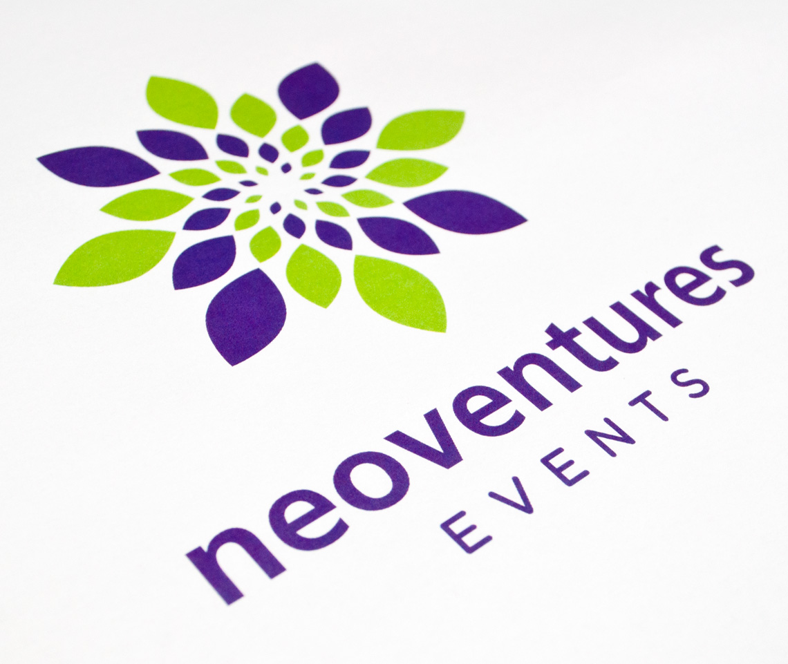 Neoventures Events Logo Design