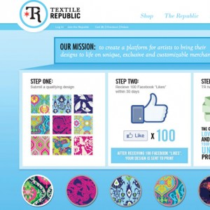 Textile Republic Website Design
