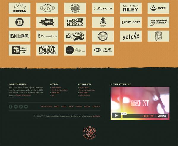 WMC Fest Graphic Design Websites