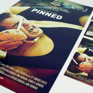 Pinned Movie Print Design Collateral