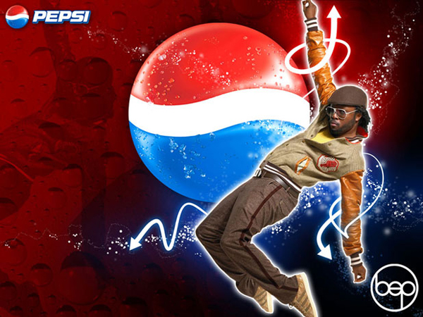 Pepsi More Website Design with Will.I.Am of the Black Eyed Peas