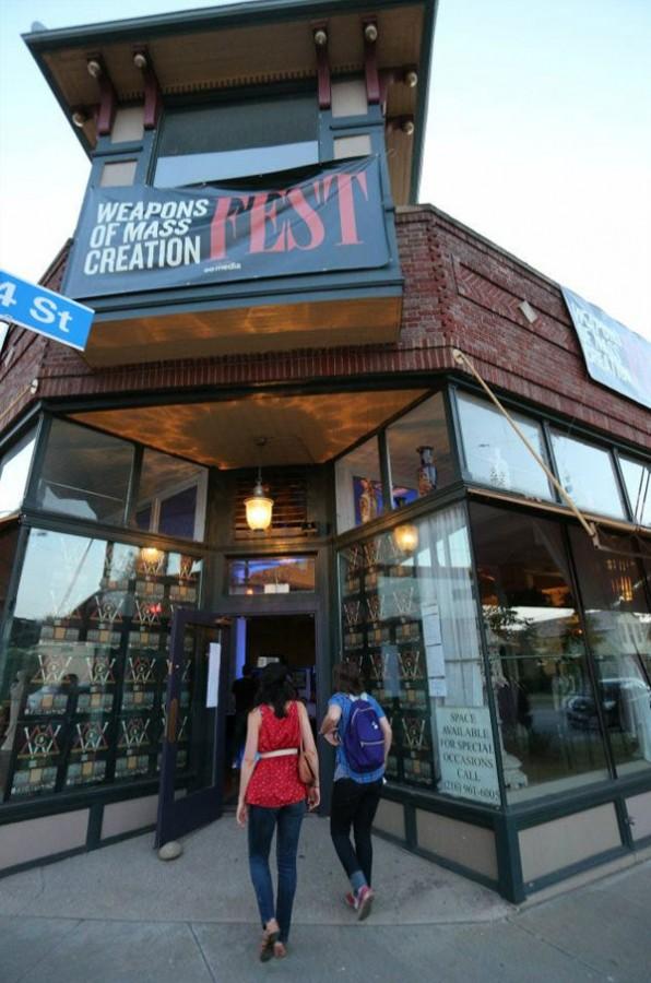 entrance to wmc fest