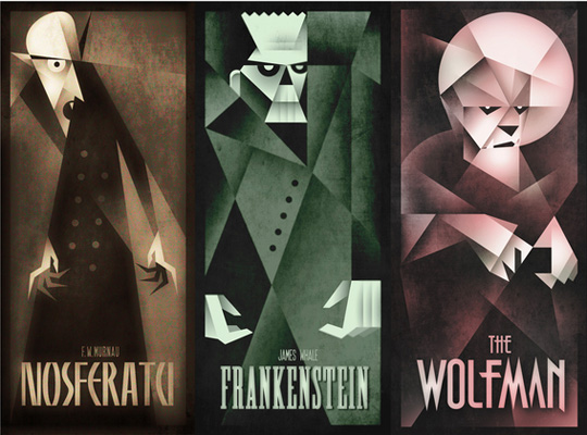 Nosferatu, Frankenstein & The Wolfman