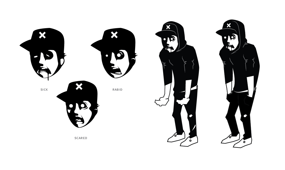 Dead Era Mascot Design Character Development