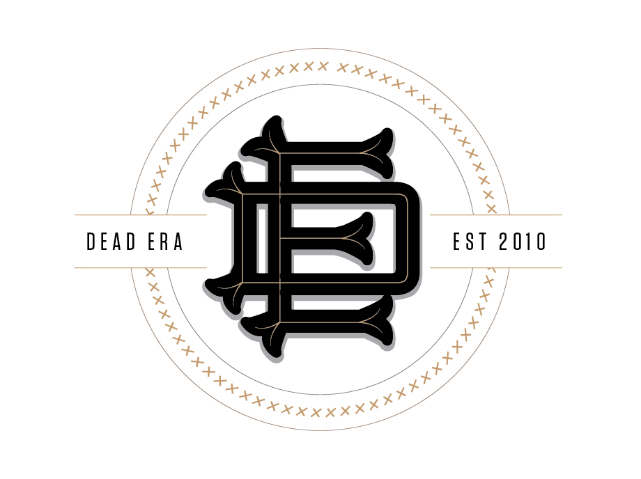 Dead Era Logo Design Monogram
