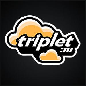 Triplet 3D Logo