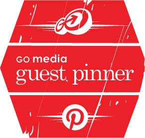 go media guest pinner badge