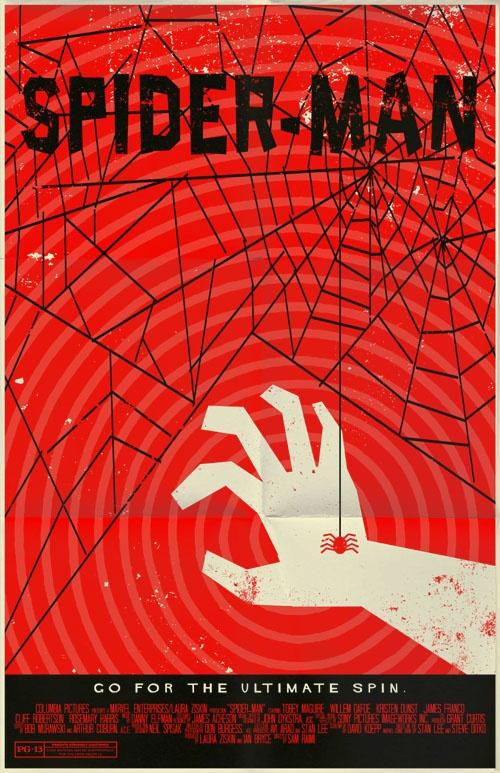 Creative & Alternative Marvel Comic Movie Posters