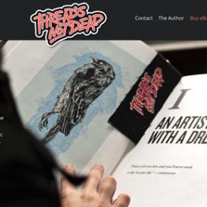 Thread's Not Dead Responsive Website Design