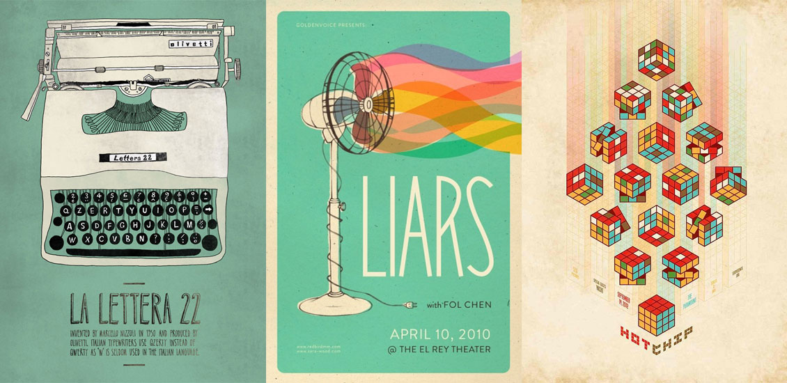 Inspiring Poster Designs Selected by your friends at Go Media