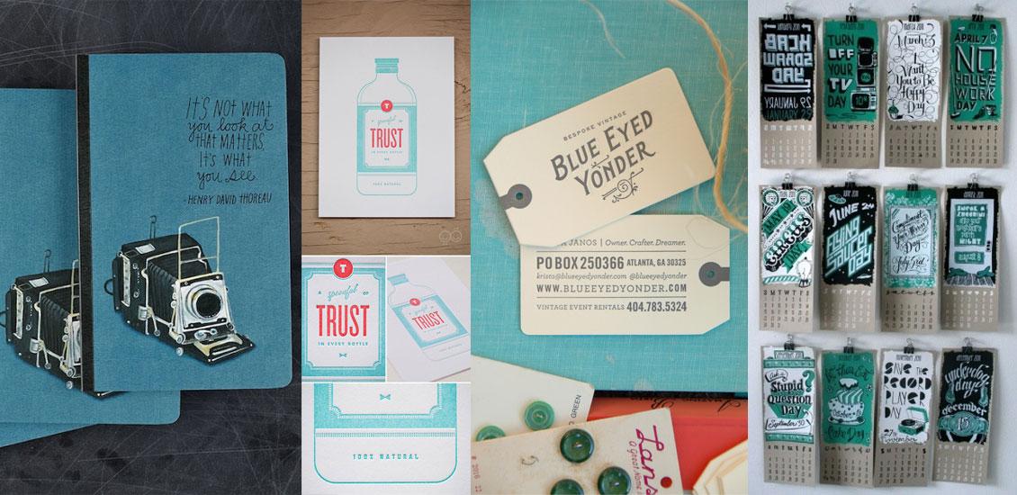 Print Design Inspiration - April 2013