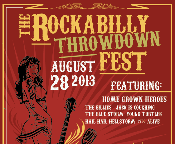 Create a Rockabilly Poster With Vector Set 22 - Copy placement