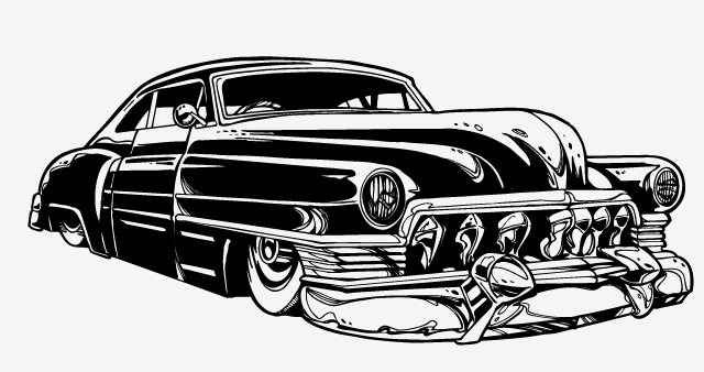 Create a Rockabilly Poster With Vector Set 22 - Colorizing elements