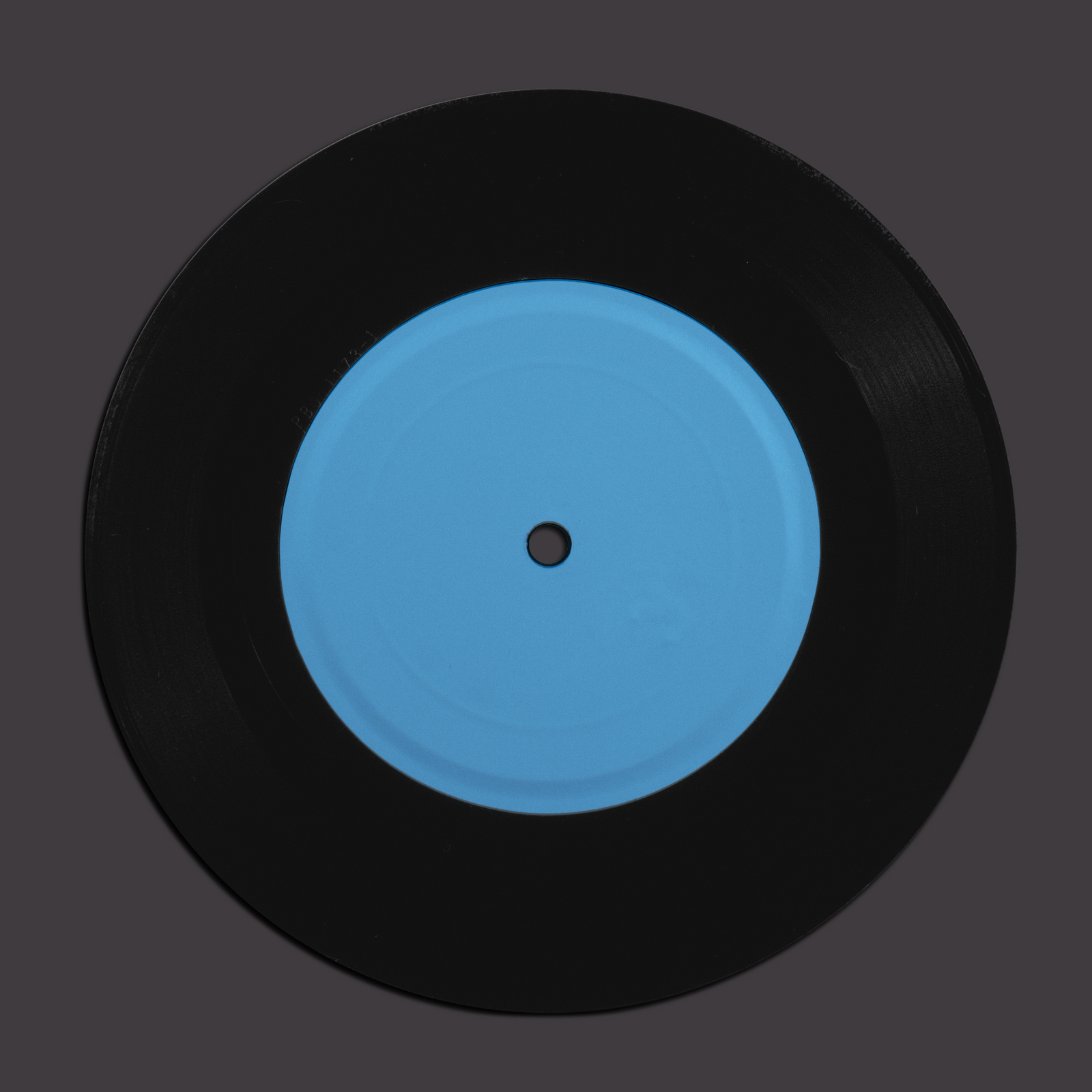It is a photo of Influential Free Vinyl Record Label Template