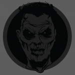 Let's make an horror movie poster with vector set 23 - Preparing the portrait - Recoloring the head