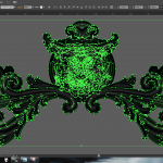 Let's make an horror movie poster with vector set 23 - Preparing the wolf ornament