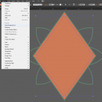 Let's make an horror movie poster with vector set 23 - Constructing the diamond
