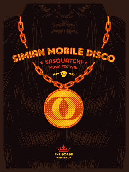 Simian Mobile Disco Poster