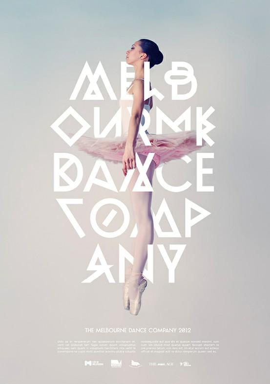 Melbourne Dance Company Poster