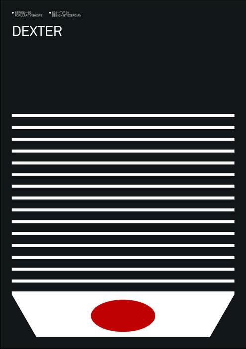 Dexter Poster by Albert Exergian