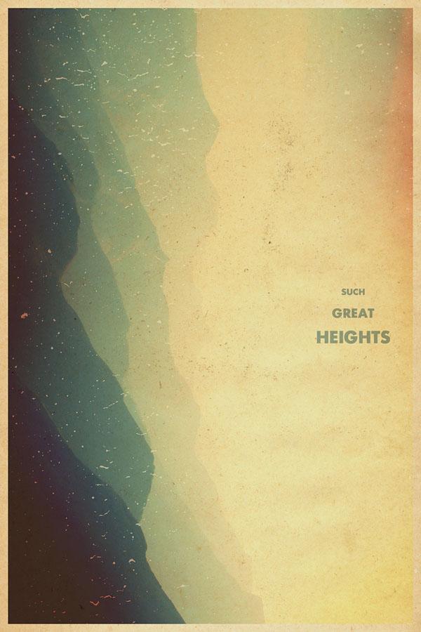 Such Great Heights by Garrett DeRossett