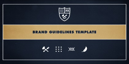 Introducing our brand guidelines template
