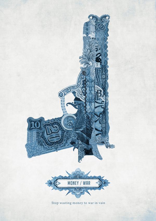 Money Poster by Graziano Losa