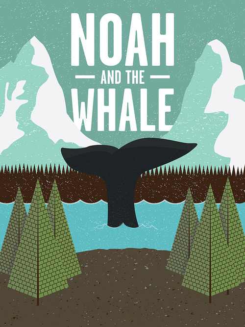 Noah and the Whale poster by Matt Jones