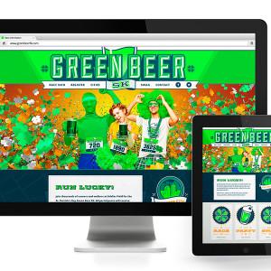 Green Beer 5K Website Design