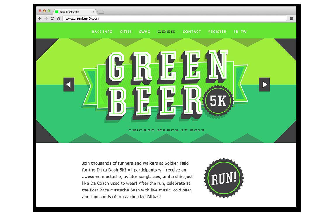 Green Beer 5K Final Logo Design