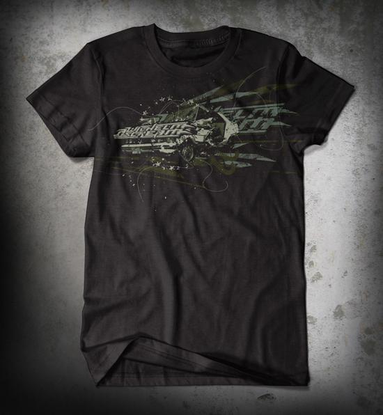 A Wilhelm Scream - Custom t-shirt design by Go Media