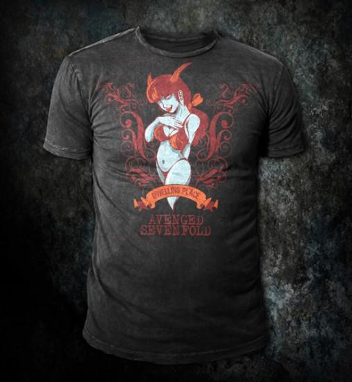 Avenged Sevenfold - Custom t-shirt design by Go Media