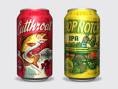 Uinta Classic Series Cans by Emrich Co.