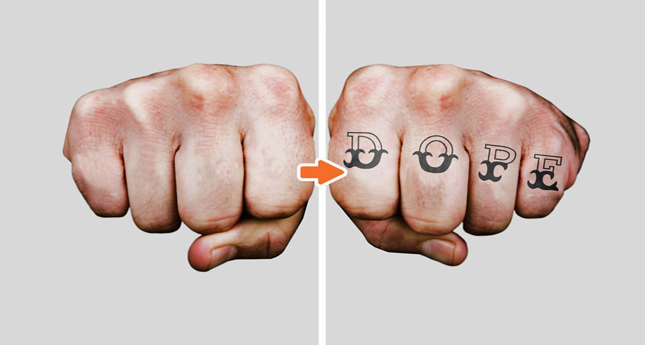 Tattoo MU Photoshop Template Pack_Before-After_MensKnucles