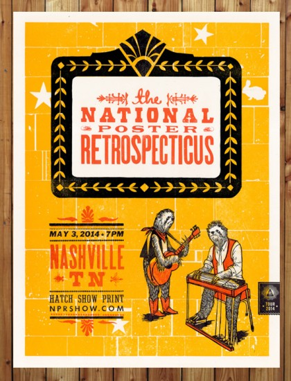 Poster by Hatch Show Print