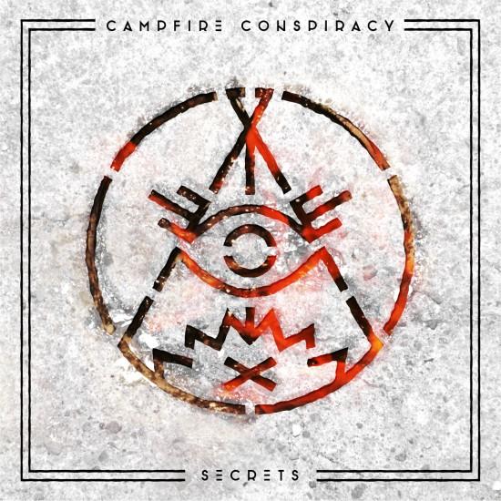 """Campfire Conspiracy """"Secrets"""" album cover"""
