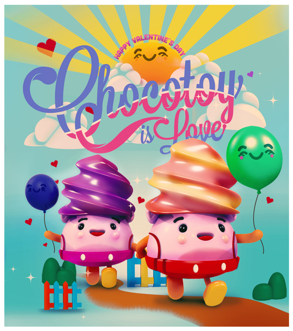 From Chocotoy Collection Illustration / 4 | found on Behance