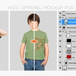 Introducing the Kids' Apparel Essentials Mockup Templates Pack