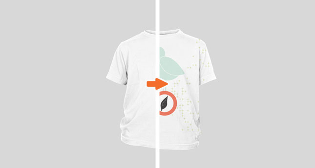 Kids T-Shirt (Ghosted Front)